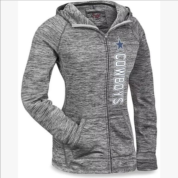 online retailer 82fbd 15859 Dallas Cowboys | Long Sleeve | Full Zip up Hoodie